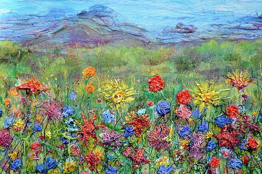 Regina Valluzzi - Brazen Blooms Print Option 2