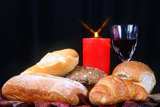 Bread and Wine  by Eagle Eye Photographers
