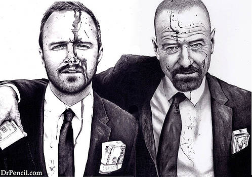 Breaking Bad - Arron and Bryan by Rick Fortson