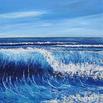 Breaking Wave I by Julie Wrathall