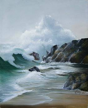 Breaking Wave by Maggie  Cabral