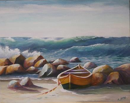 Breaking Waves by Anne Marie Spears