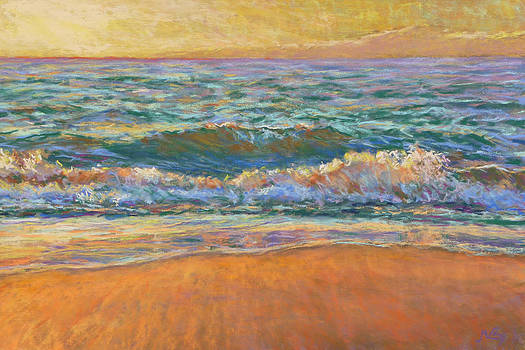 Breaking Waves by Michael Camp