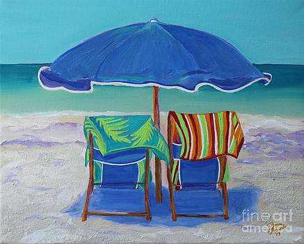 Breezy Beach Day by Jeanne Forsythe