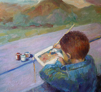 Brentt-Little Artist by Benjamin Johnson