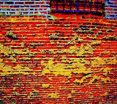 'Brick Abstract II' by Liza Dey