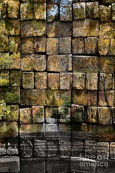 Brick Wall Of Fall by Kathleen Struckle