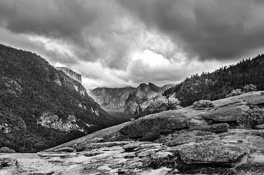 Bridalveil Fall from a Distance by Kay Price