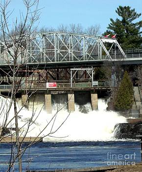 Gail Matthews - Bridge and Falls view