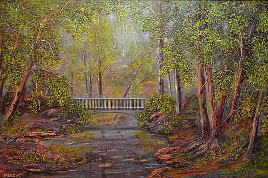 Bridge from the Past  by Michael Mrozik