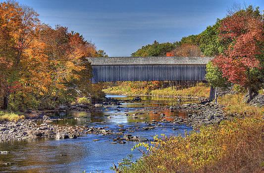 Bridge Over Piscataquis River by Sharon Batdorf
