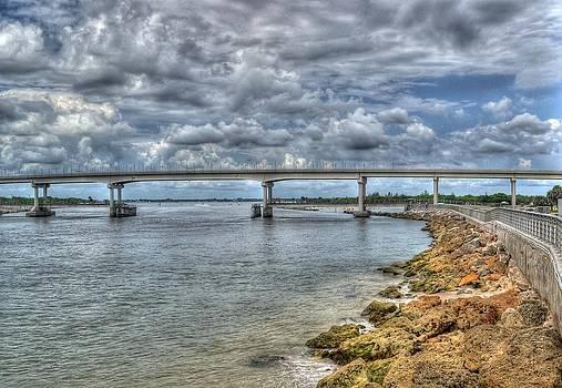Bridge over Sebastian Inlet by Timothy Lowry