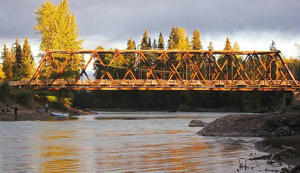 Mary Lee Dereske - Bridge Over the Bulkley River Telkwa British Columbia