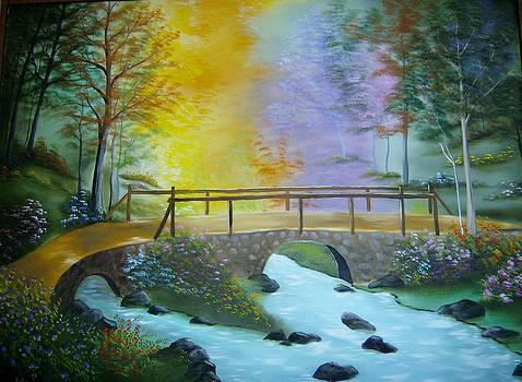 Bridge Over Troubled Water by Debra Campbell
