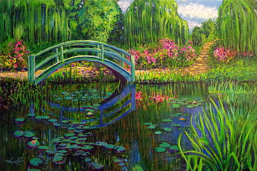 Bridge to Monet by Wayne Fair