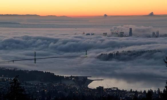 Bridge to Vancouver by Scott Holmes