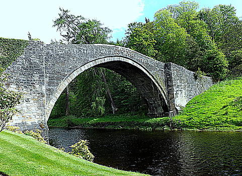 Brig o Doon Scotland  by Bill Lighterness
