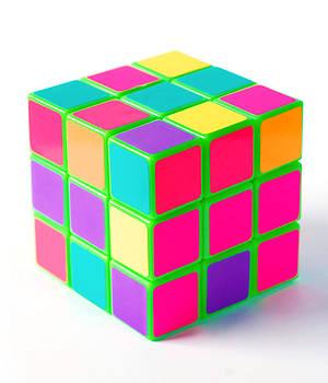 Bright Rubix by Kenneth Feliciano