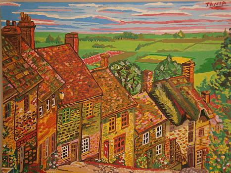 Bright Village  by Tania  Katzouraki