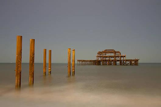 Brighton West Pier by Pete Hemington