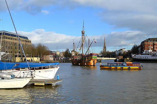 Bishopston Fine Art - Bristol Harbour Scene
