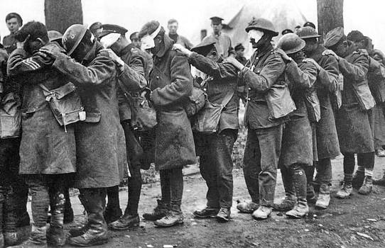 Unknown - British 55th Division gas casualties