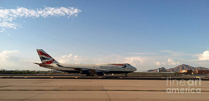 British Airways arrival into Sky Harbor by ChelsyLotze International Studio
