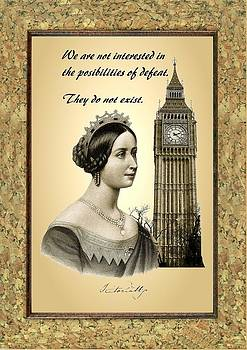 British Spirit - Young Queen Victoria by Little Vintage Chest