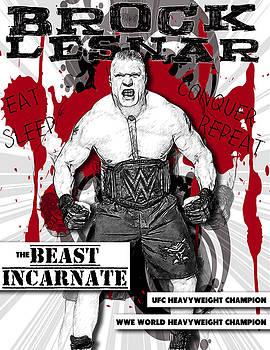 Brock Lesnar by Anibal Diaz