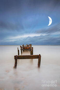 English Landscapes - Broken Jetty Moon