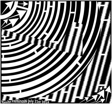 Broken Record Maze by Yanito Freminoshi