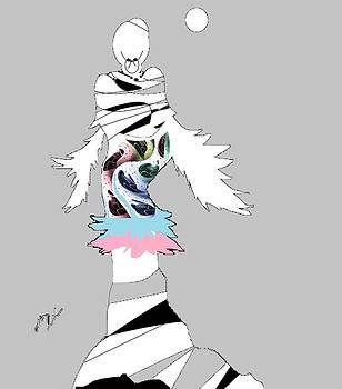 Broken Wings 3 by Ann Calvo