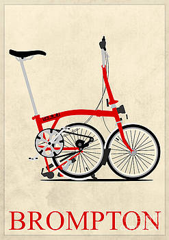 Brompton Bike by Andy Scullion