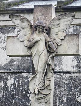Brompton Cemetery Angel by Gia Marie Houck