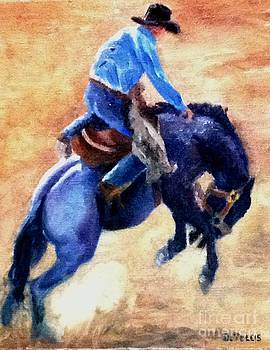 Bronc by Donna Teleis