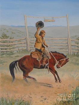 Bronco by Elaine Jones