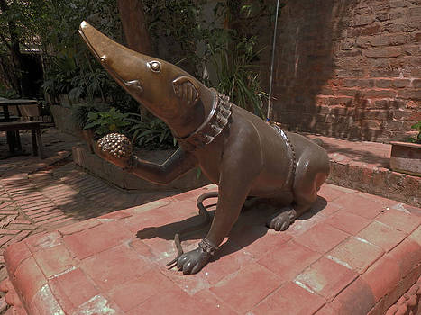 Bronze Statue by Pema Hou