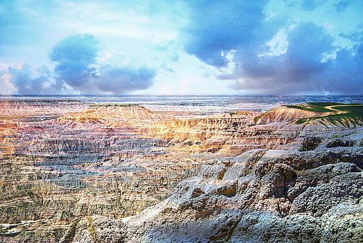 Judy Hall-Folde - Brooding Badlands