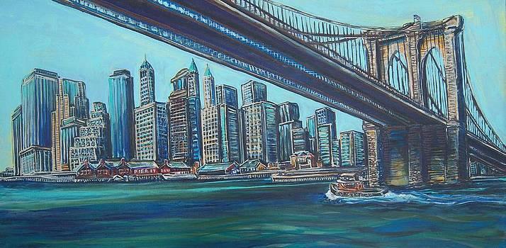 Brooklyn Bridge 2010 by Mitchell McClenney