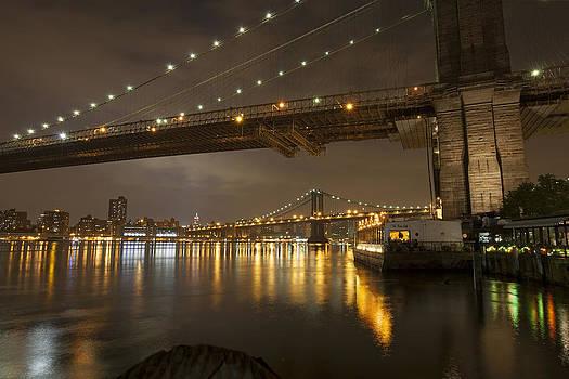 Brooklyn Bridge by Boris Blyumberg