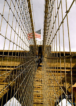 Brooklyn Bridge by Roseann Errigo