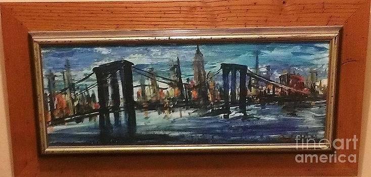 Brooklyn Bridge by Rubi Roth