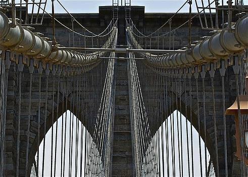 Brooklyn Bridge by Twila Miller