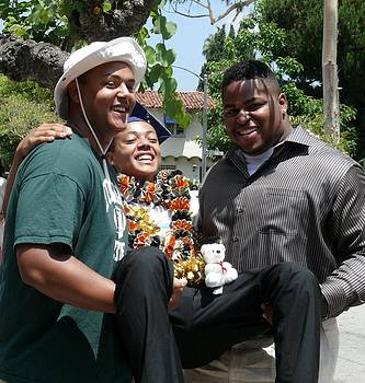 Brother's Jubilation on Graduation Day by Jacquelyn Roberts
