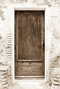 Brown Door of Extremadura by Calvin Hanson