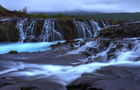 Bruarfoss Iceland by Chris  Allington