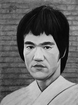 Bruce Lee  by Vishvesh Tadsare