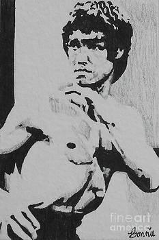 Bruce Lee by Bonnie Cushman