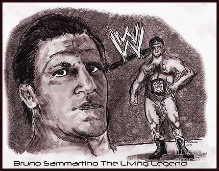 Chris  DelVecchio - Bruno Sammartino The Living Legend