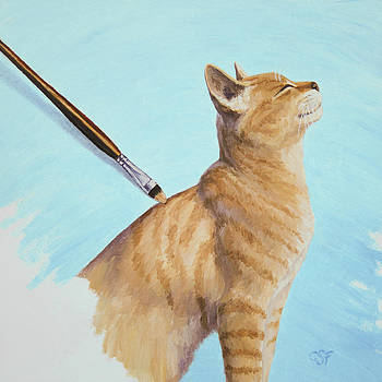 Crista Forest - Brushing the Cat